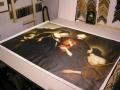 Stap 1: Los schildersdoek