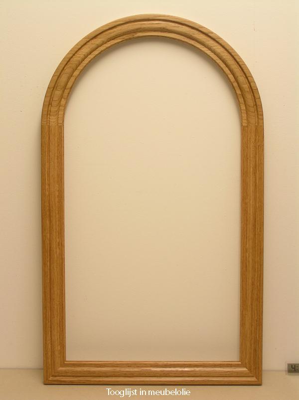 Handgemaakte lijst voor een spiegel