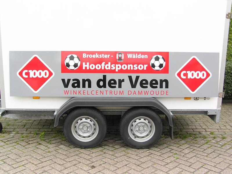 C1000 van der Veen, Damwâld