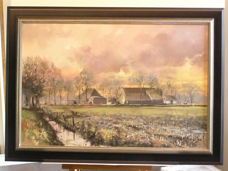 Boerderijen door Tjeerd Landman