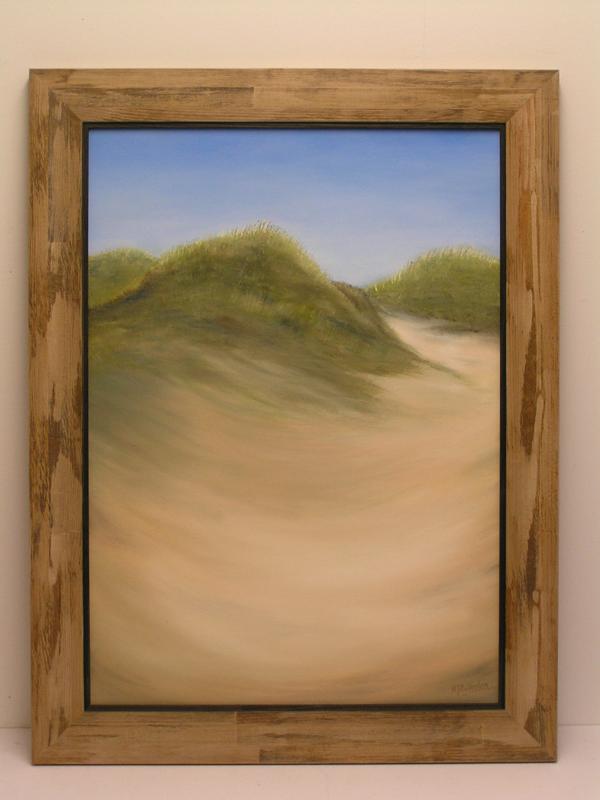 Schilderij duinen
