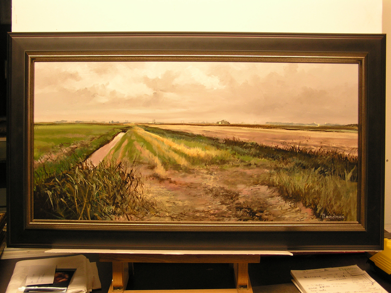 Landschap door Tjeerd Landman