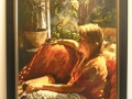 Vrouw op bank, Tjeerd Landman