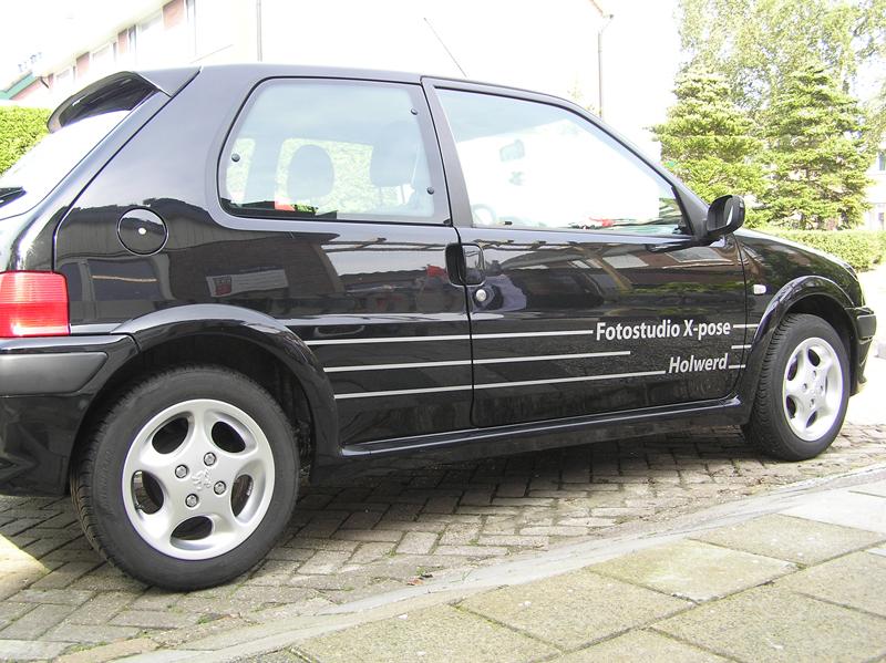 Fotostudio X-pose Peugeot 106